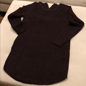 Loft szS cotton blend sweater dress